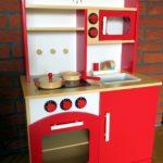 Test drewnianej kuchni do zabawy TecTake – moje opinie