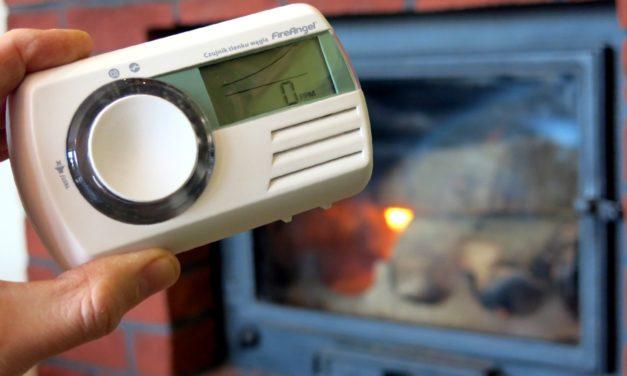 Zimowe bezpieczeństwo i recenzja czujnika czadu FireAngel