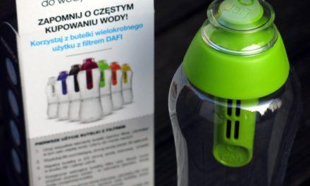 Test butelki filtrującej Dafi – moje opinie