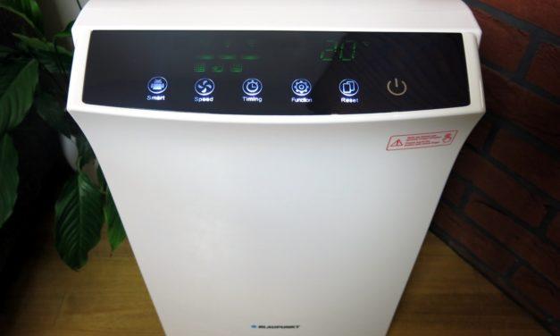 Test oczyszczacza powietrza Blaupunkt Lavender 3537W – moje opinie