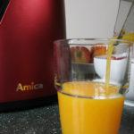 Test wyciskarki wolnoobrotowej Amica - moje opinie
