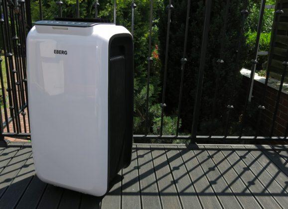 Klimatyzator przenośny – z czym to się je? Test klimatyzatora mobilnego Eberg CODO C26HD – moje opinie