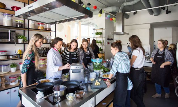 Michel Moran, Kenwood Prospero+ i ja na warsztatach kulinarnych