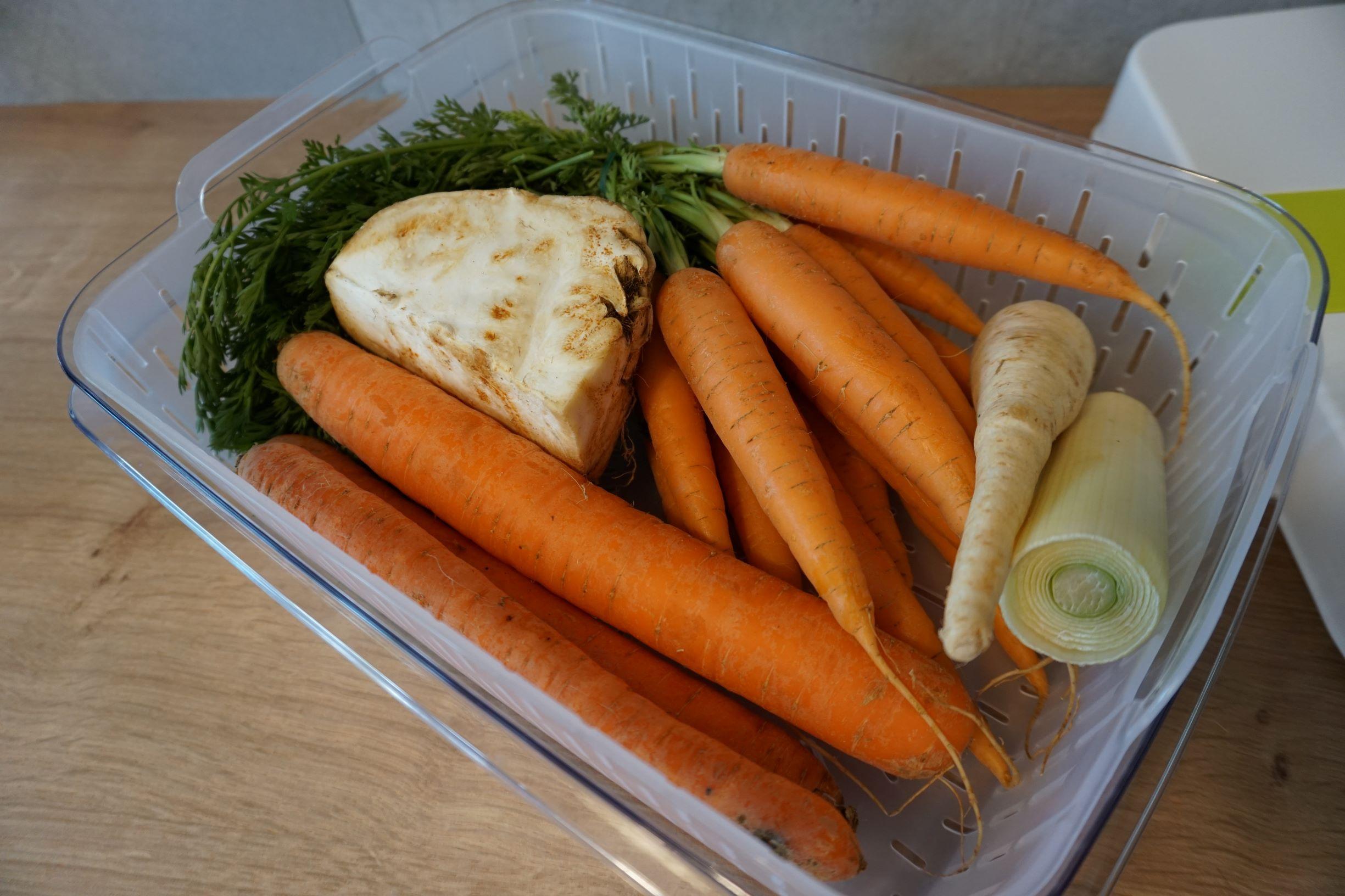 specjalny pojemnik na warzywa