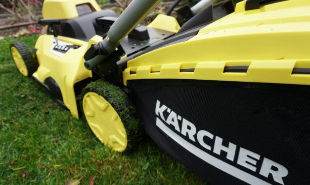 Test kosiarki akumulatorowej Kärcher 36-40 – opinie użytkownika