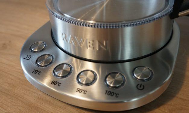 Test: szklany czajnik z regulacją temperatury RAVEN – moje opinie