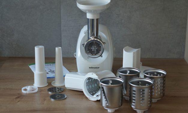 Test maszynki do mielenia z szatkownicą Zelmotor – moje opinie
